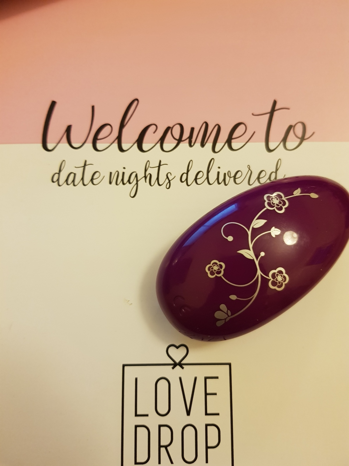 Love Drop UK date night subscription box